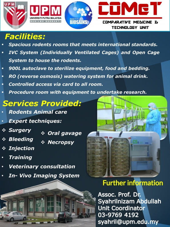 Services Offered at (COMeT)