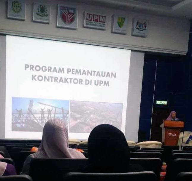 CONTRACTOR'S SAFETY IN UPM