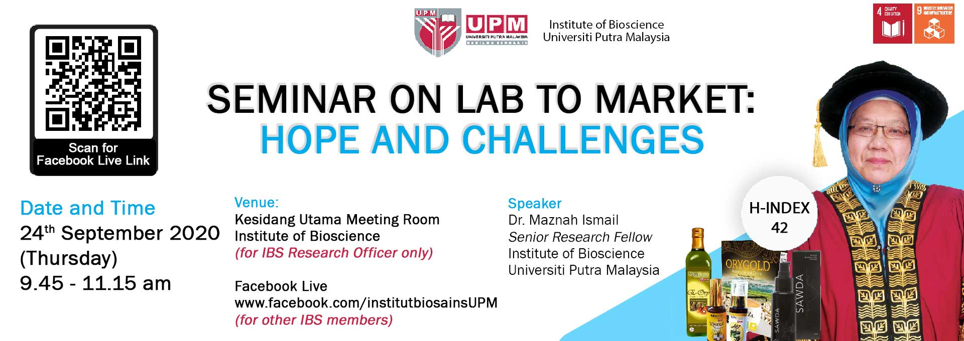 Seminar on Lab to Market : Hopes & Challenges